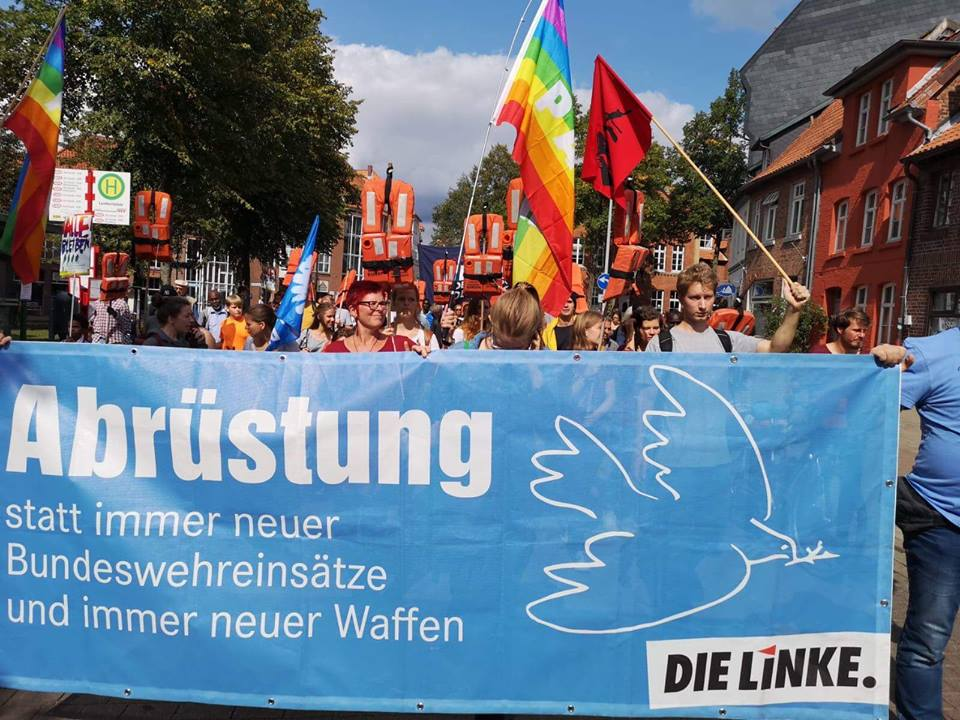 Demo Solidarität statt Abschottung