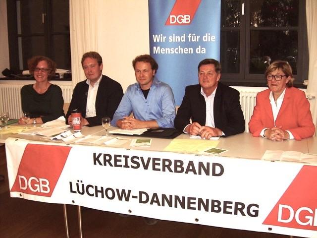 DGB mit KandidatInnen