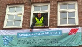 DGB Lüneburg für Mobilitätswende