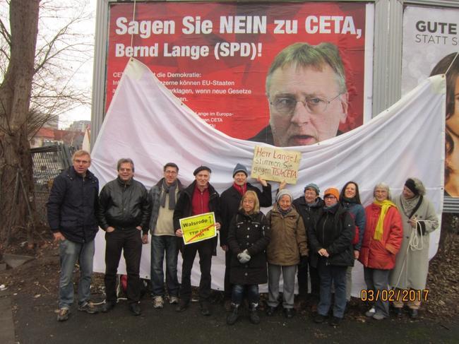 Bernd Lange/ SPD gegen CETA