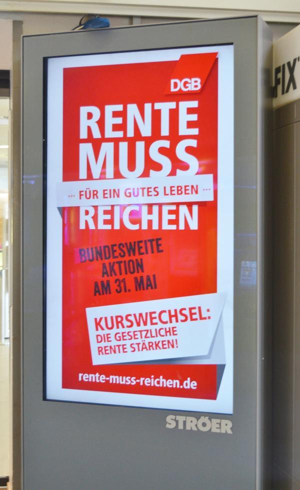 Rentenaktionstag Lüneburg