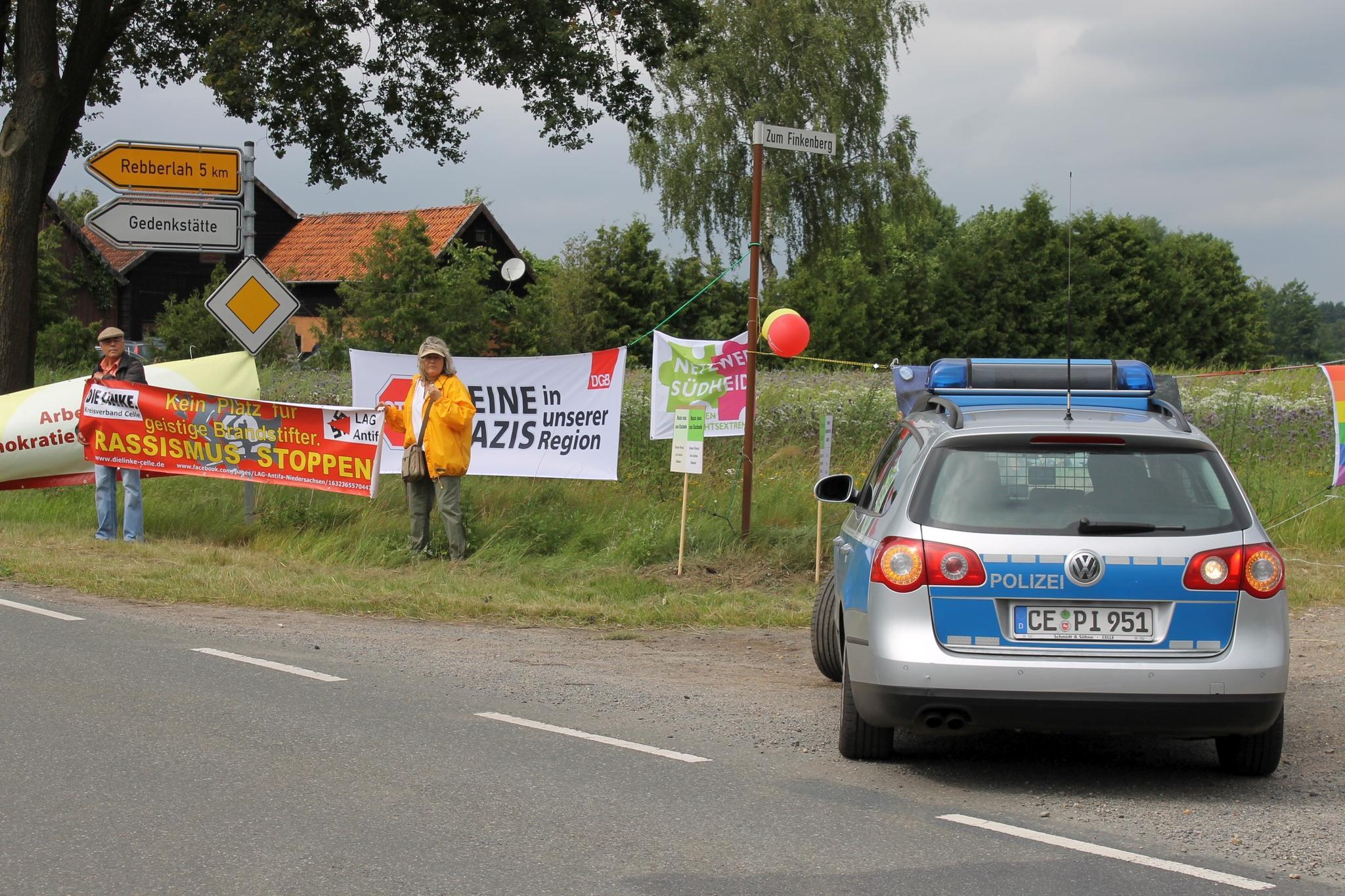 Demo in Eschede 24.06.2017